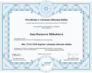 pôžička Žilina - certifikát poskytovania úverov